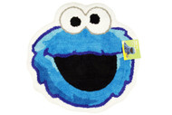 "Sesame Street ""Patchwork"" Cookie Monster Bath Rug"