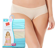 Hanes Ultimate Perfect Stretch Hipster Panties - 6 Pack (2XL)