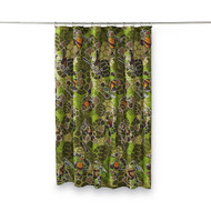 TMNT Camo Microfiber Shower Curtain