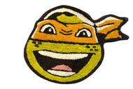 TMNT 'Michaelangelo' Bath Rug