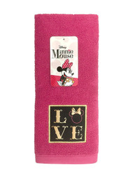 Disney Minnie Mouse XOXO Hand Towel