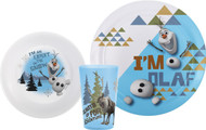 Frozen Olaf Mealtime 3-Piece Set