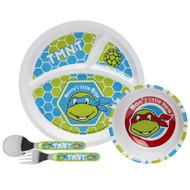 TMNT Retro Toddlerific Mealtime 4-Piece Set
