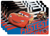 Cars Lightning McQueen and Mater Placemats (Set of 4)