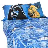 "Star Wars ""Collage"" 4pc. Full Size Sheets Set"