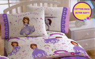 "Sofia the 1st ""Every Good Deed is Magic"" Twin Sheet Set"