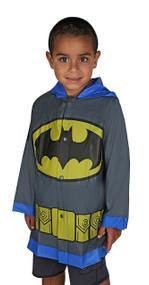 DC Comics Batman Grey Rain Slicker
