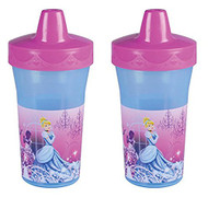 The First Years - Disney Princess Slim Line 2-Pack Sippy Cup