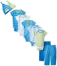 Gerber Boys 9-Piece Playwear Bundle Set (0-3 months)