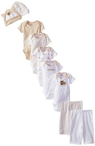 Gerber Unisex 9-Piece Playwear Bundle Set (0-3 Months)