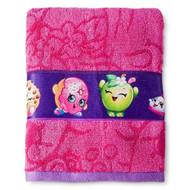 Shopkins Pink/Purple Bath Towel
