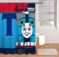 Thomas & Friends Fabric Shower Curtain