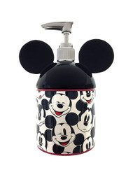 Disney Mickey Mouse Big Face 100% Resin Lotion Pump