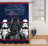 Star Wars 'Darth Vader' Fabric Shower Curtain