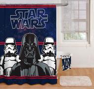Star Wars 'Darth Vader' Fabric Shower Curtain