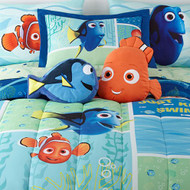 "Finding Dory ""Marine Adventure"" Twin/Full Comforter"