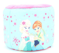 "Disney Frozen ""Perfect Day"" Round Pouf Ottoman"