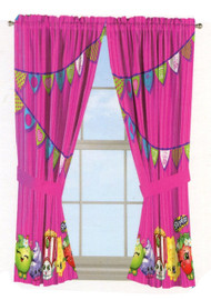 Shopkins Window Panels Curtains Drapes