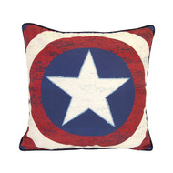 Captain America 'Star Shield' Decorative Pillow