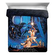 Star Wars 'Classic Poster' Full/Queen Reversible Comforter