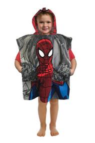 Pocket Frenz: Spiderman 'Woosh & Thwip' Hooded Poncho