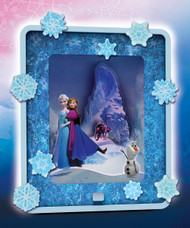 Frozen Dream Scenes 'Winter in Arendelle' Light-up Scene Activity Kit