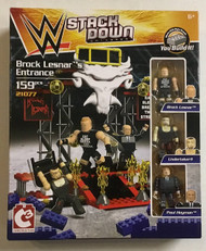 WWE StackDown Universe Brock Lesnar's Entrance Playset