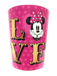 Minnie Mouse 'XOXO' Wastebasket