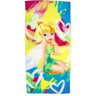Disney Fairies Tinkerbell Beach Towel