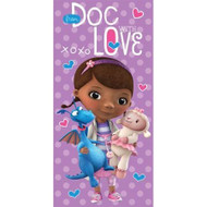 Disney Doc McStuffins 'Stuffy & Lambie' Beach Towel