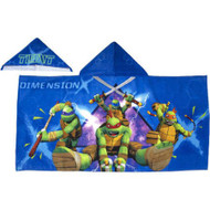 TMNT 'Dimension X' Hooded Towel