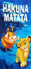 The Lion King 'Hakuna Matata' Beach Towel