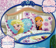 Disney Frozen 'Warm Heart' Reversible Pillowcase