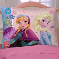 Disney Frozen 'Flowering Friendship' Reversible Pillowcase