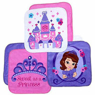 Sofia the First 6-Pack Washcloth Set