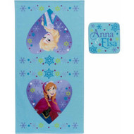 Disney Frozen 'Snowflakes' 2-Piece Bath Set