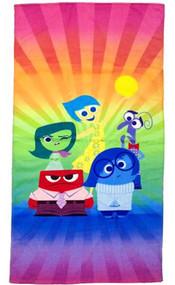Disney Inside Out Beach Towel