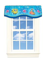 Spongebob Squarepants 'Briny Bob' Window Valance