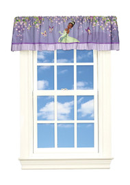 Princess & The Frog 'Princess Spell' Satin Window Valance