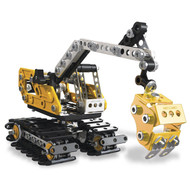 Meccano - 2-in-1 'Excavator & Bulldozer' Model Set