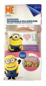 Despicable Me 'Eye Love U 2' Reversible Pillowcase