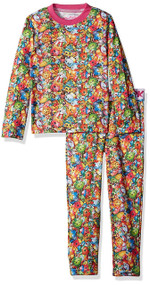 Shopkins Bunch Print Top & Pant Pajama Set (4/5)