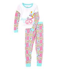 Shopkins Sneaky Wedge Waffler 2-Piece Pajama Set