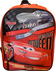 "Disney Cars McQueen 15"" School Bag Backpack"