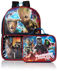 Guardians of the Galaxy Backpack with Lunch Bag Set