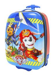 Paw Patrol Hard Shell Rolling Luggage Bag