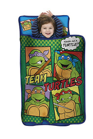 TMNT Toddler All-in-One Nap Mat