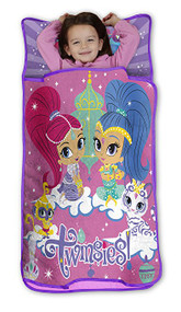 Shimmer & Shine 'Twinsies' Toddler All-in-One Nap Mat