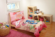 "Sheriff Callie ""Cutest Cowgirl"" 4-Piece Toddler Bedding Set"
