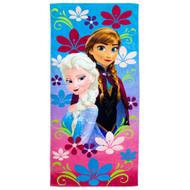Disney Frozen Elsa & Anna Beach Towel
